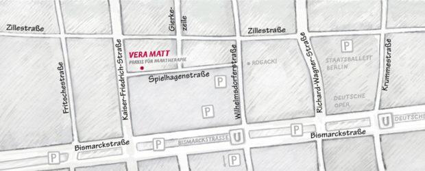Paartherapie Berlin: Vera Matt - Anfahrt