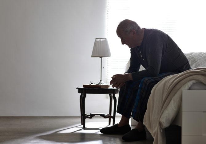 Einsamkeit nach der Trennung