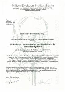 Indirekte Kommunikation und Induktion in der klinischen Hypnose