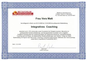 Integratives Coaching