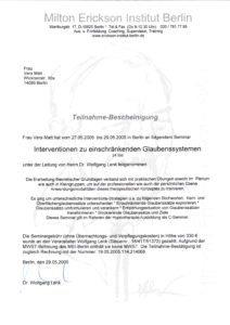 Spezialisierungen in der klinischen Hypnose