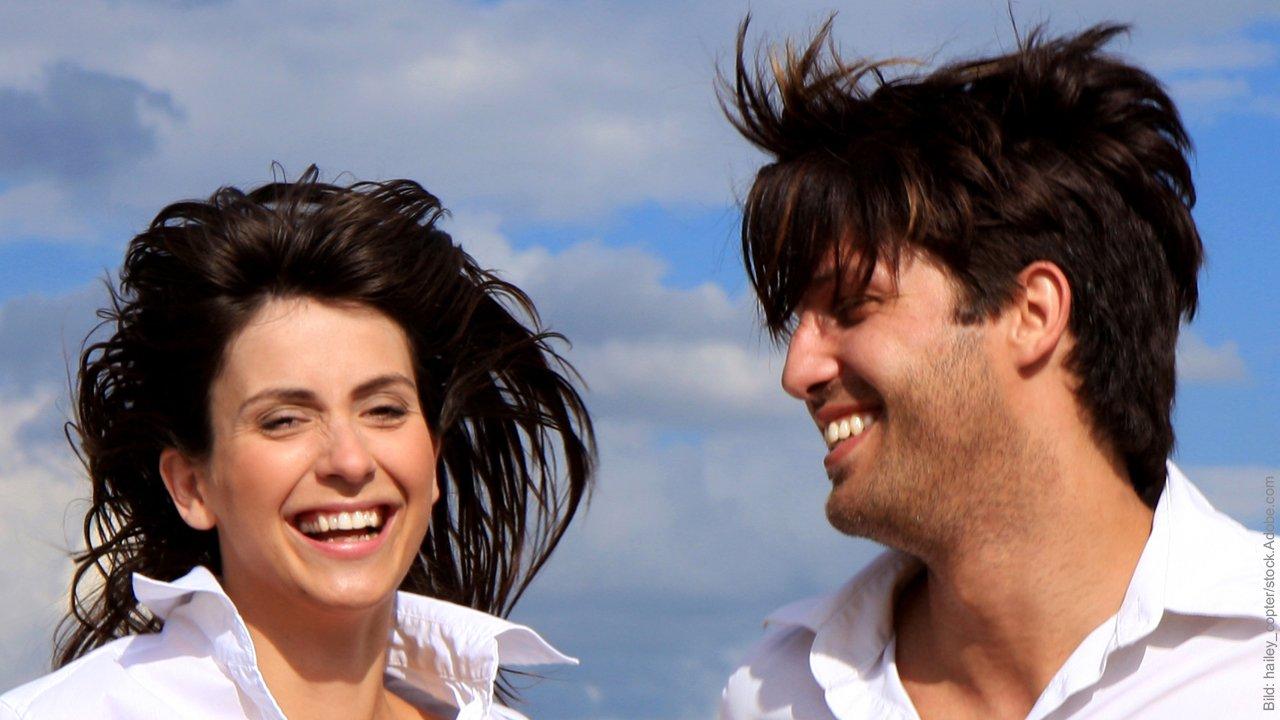 glückliche Partnerschaft: Glückliches Paar